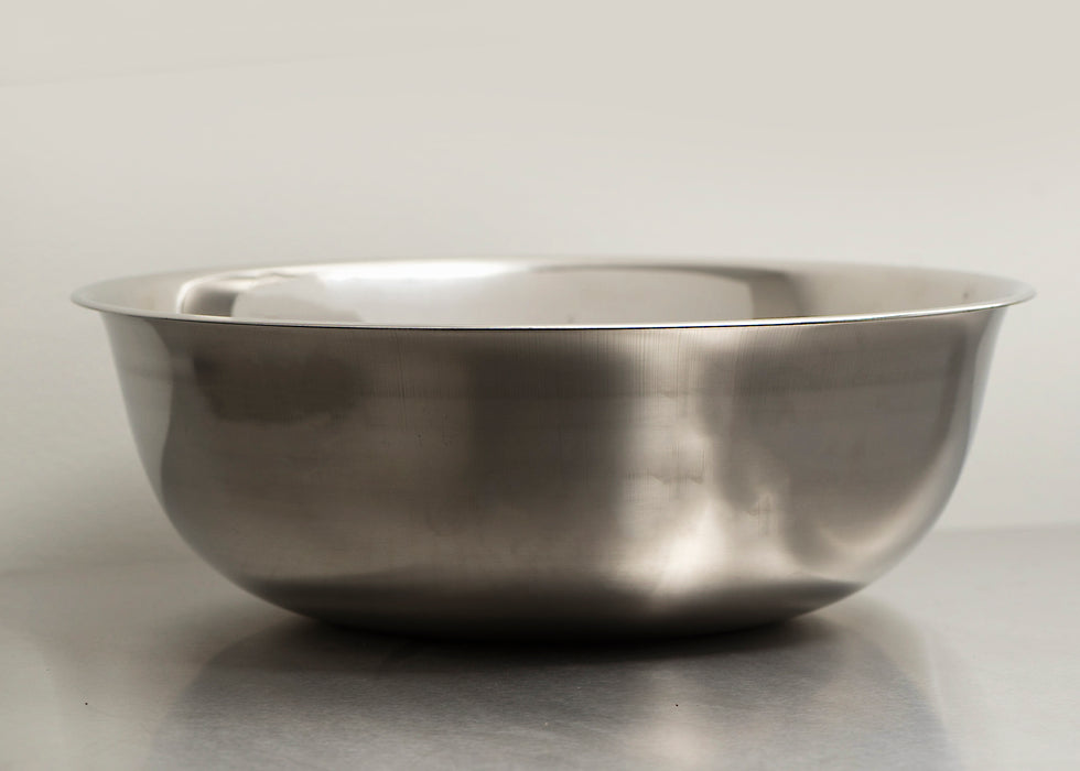 Standard Weight Stainless Steel Mixing Bowl - 20QT