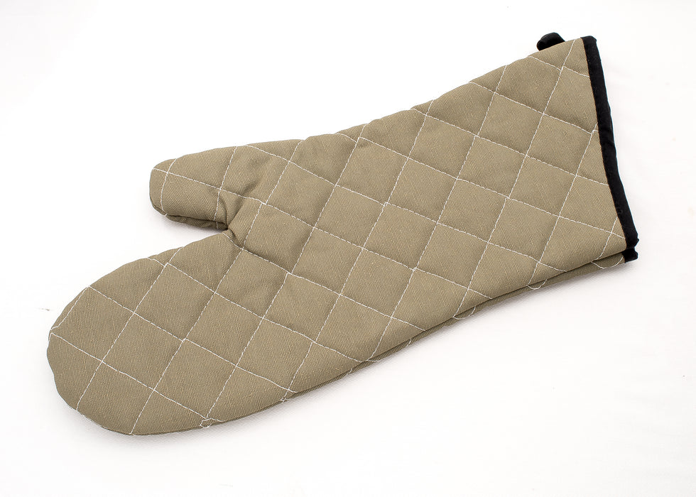 Quilted Cotton Oven Mitt - 17""