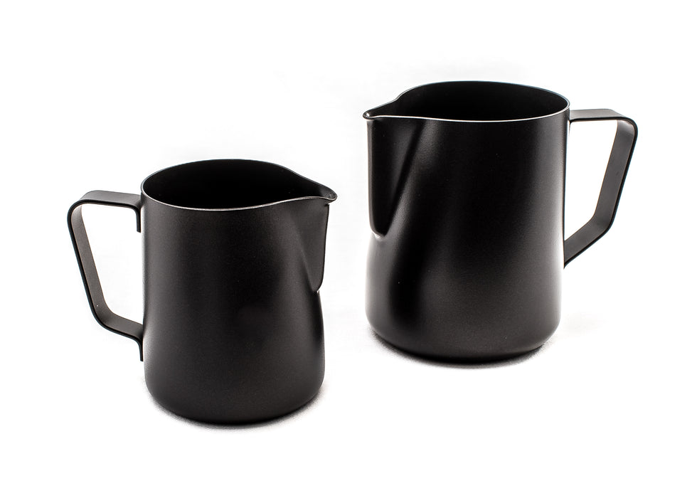 Rhino™ Coffee Gear Black Stealth Milk Pitcher