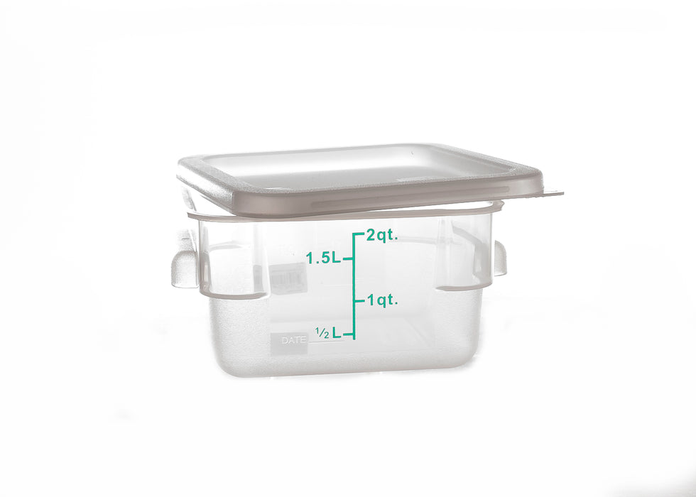 Clear Storage Container - 2QT