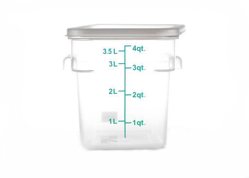 Clear Storage Container - 4QT