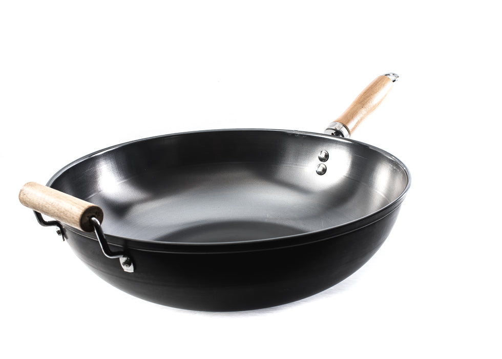 Non-Stick Carbon Steel Wok