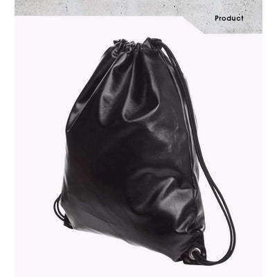 DeeTrade Backpack Black Drawstring Backpack