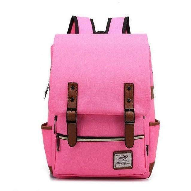 DeeTrade Backpack Canvas Backpack - Geek Fashionista (9 colors)