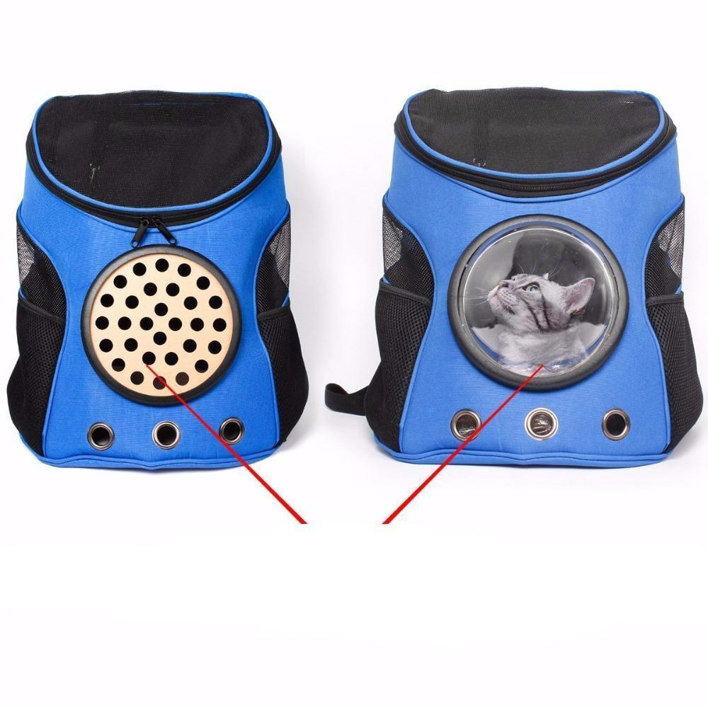 DeeTrade Backpack Dog & Cat Space Capsule-Styled Backpack