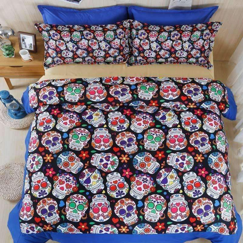 DeeTrade Bedding Set Sugar Skulls Bedding Set