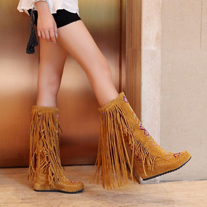 DeeTrade Boots High Top Moccasins (4 colors)