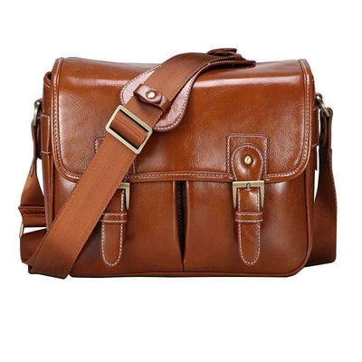 DeeTrade camera bag Leather Vintage Camera Deluxe Bag