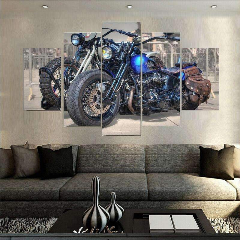 DeeTrade canvas Django Bike Wall Art