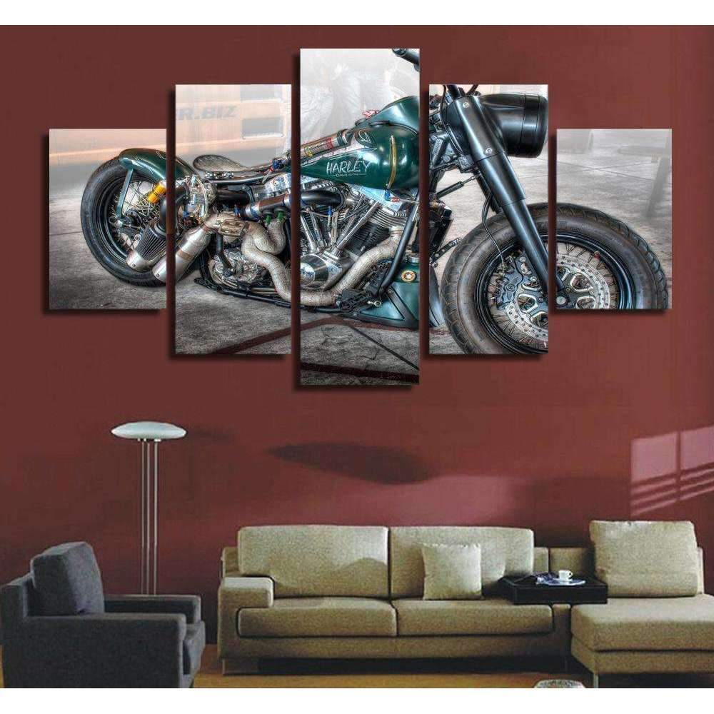 DeeTrade canvas Frogling Wall Art