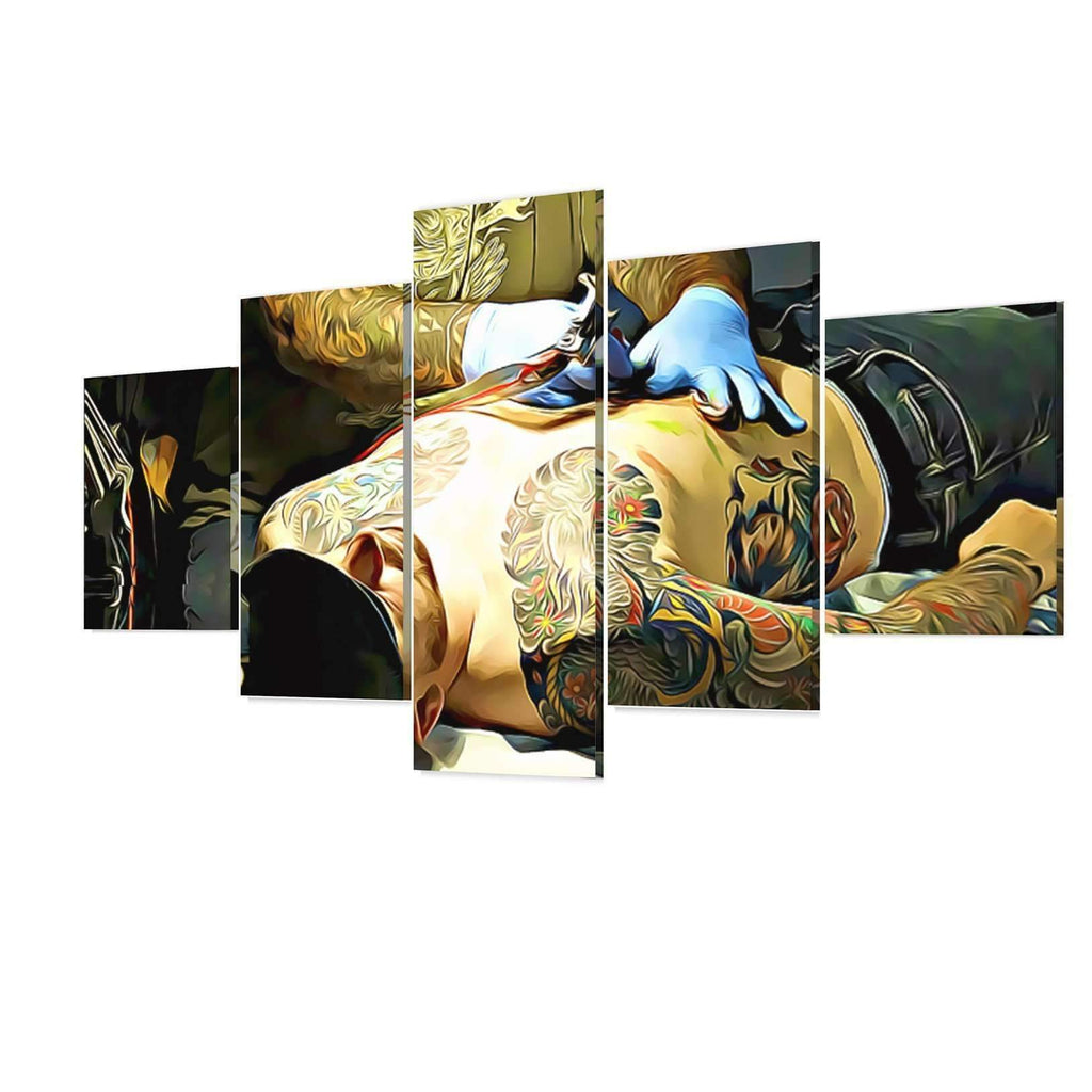 DeeTrade canvas Tattoo Artist Wall Art