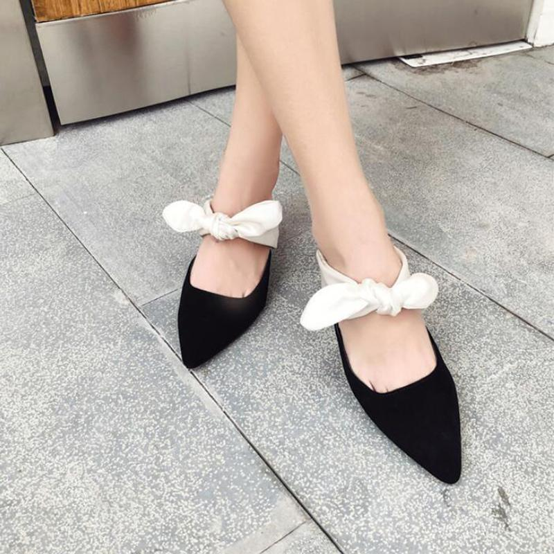 DeeTrade Heels Sofia Pointy Toe Pump (4 Colors)