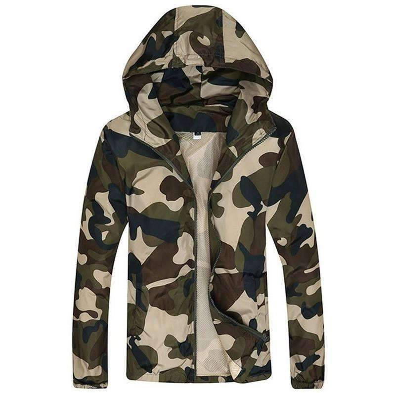 DeeTrade Jackets Camouflage Hooded Jacket (3 color)