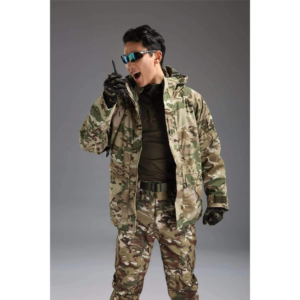 DeeTrade Jackets Tactical Warm Jacket w/fleece Linen (8 colors)