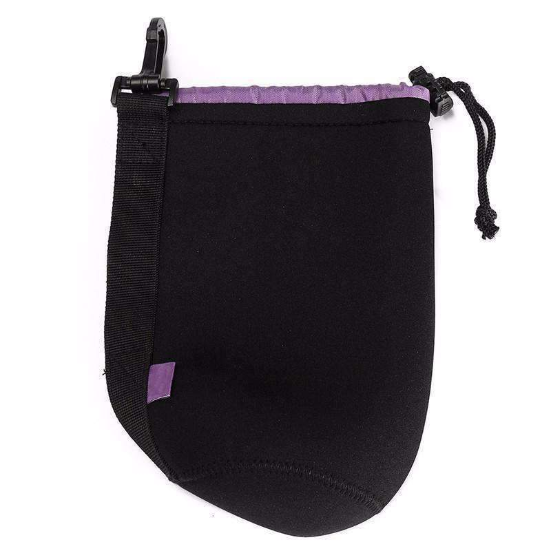 DeeTrade lens bag Neoprene Deluxe Camera Lens Pouch (4 sizes)