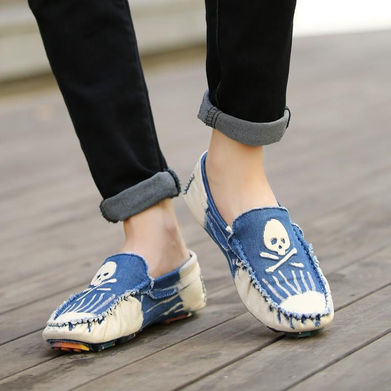 DeeTrade Loafers Skull Summer Loafers (3 colors)