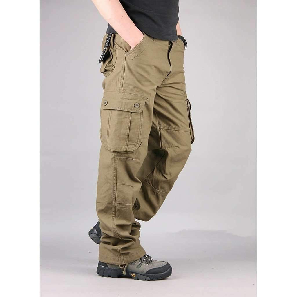 DeeTrade Pants Cargo Pants Military Style (4 colors)