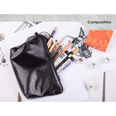 DeeTrade purse Black Cosmetic Bag