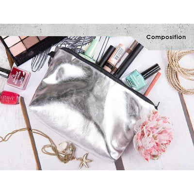 DeeTrade purse Silver Cosmetic Bag