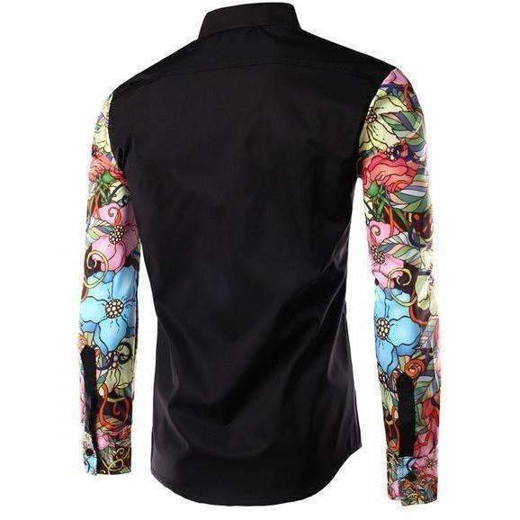 DeeTrade Stylish Printed Colorful Shirt - Flowers (3 colors)