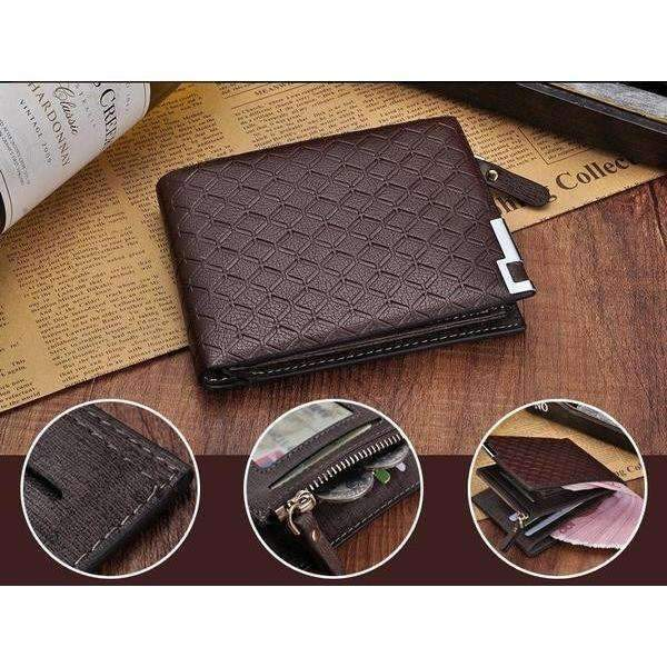 DeeTrade Stylish Wallet Vertical/Horizontal (2 colors)