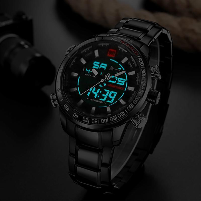 DeeTrade Watch Commander Chronograph