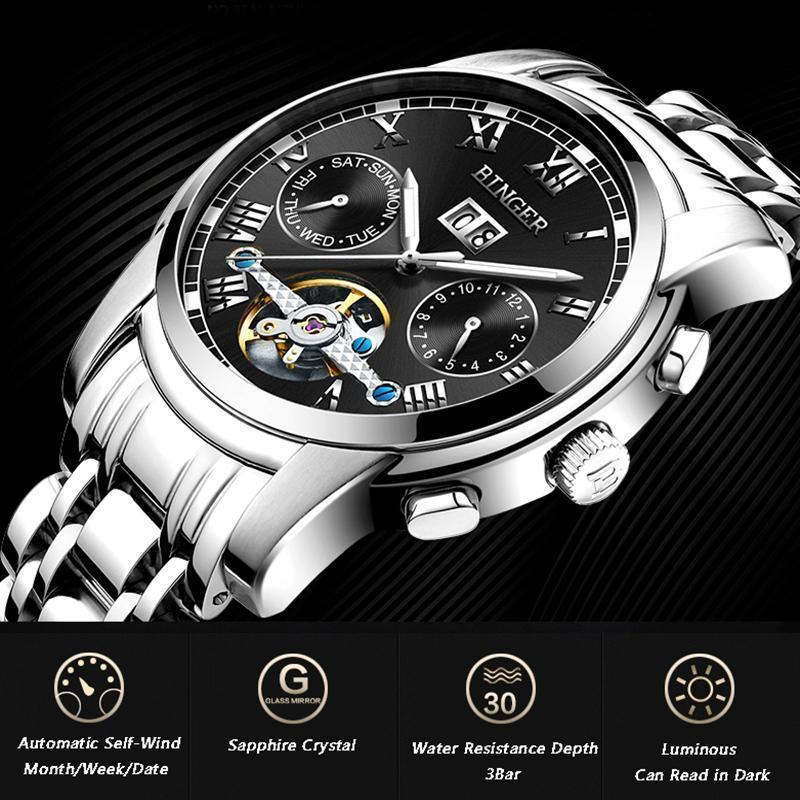 DeeTrade Watch Navigator Chronograph