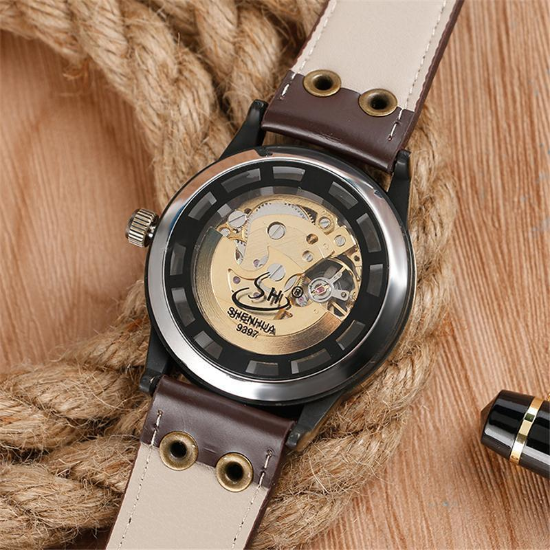 DeeTrade Watch Paganelle Skeleton Watch