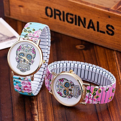 DeeTrade Watch Sugar Skull Women Fashion Watch