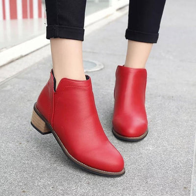 Martha Ankle Booties (3 colors)