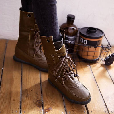 DeeTrade Women's Boots Mira Lace Up Boots (3 colors)