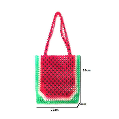 DeeTrade Womens Handbag Acrylic Beaded Bag (2 styles)
