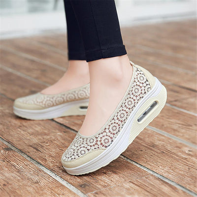 DeeTrade Womens sneakers Cynthia Slip Ons (6 colors)