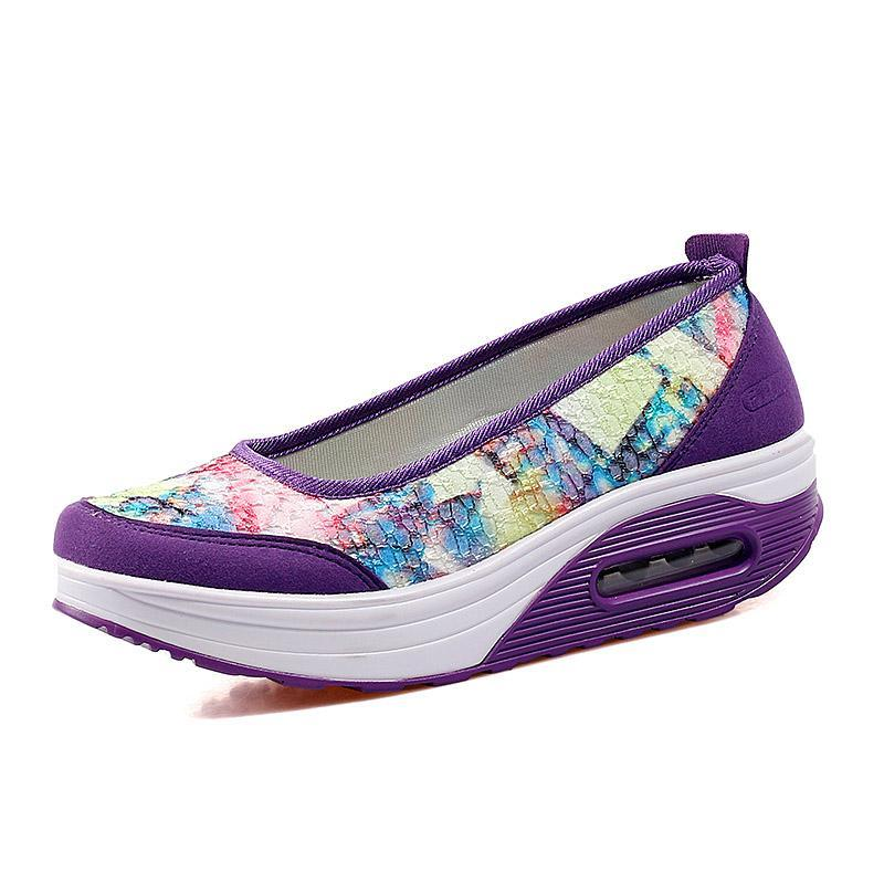 DeeTrade Womens sneakers Kimberly Slip Ons (4 colors)