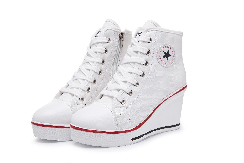 DeeTrade Womens sneakers Tammy High Tops (4 colors)