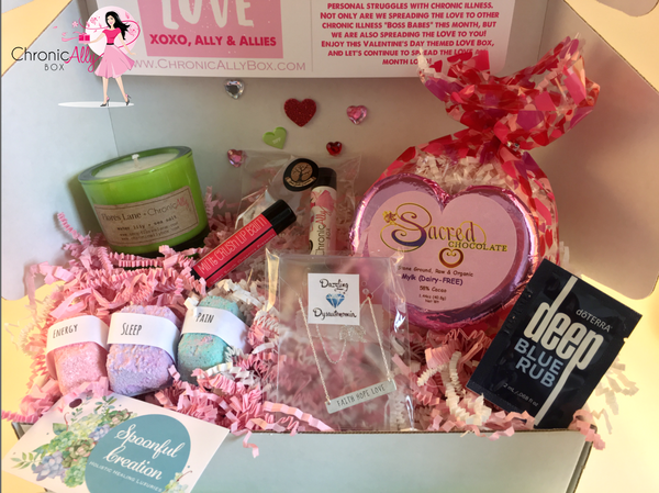 ChronicAlly's February BOSS BABE LOVE Box