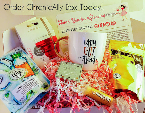 ChronicAlly Treat Box 6 Month Gift Subscription (SOLD OUT!)