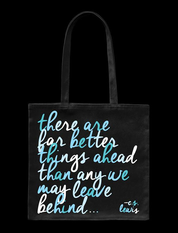 CS Lewis Quotable Card Tote