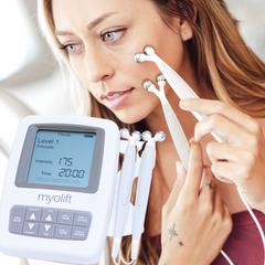 NuFace vs. MyoLift Microcurrent Facial Machines