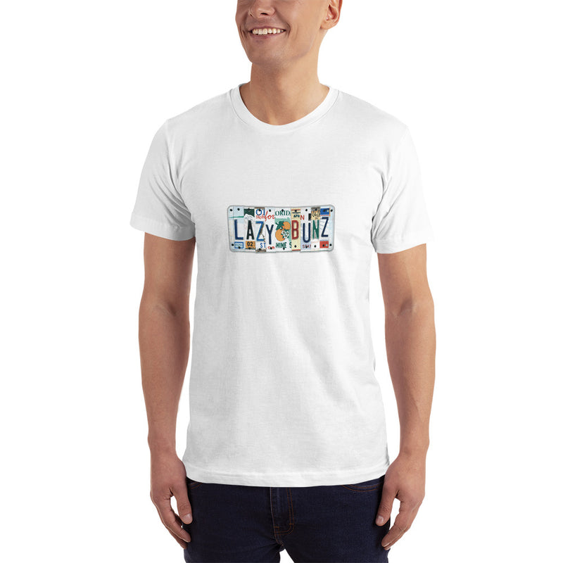 License Plate Men's T-Shirt