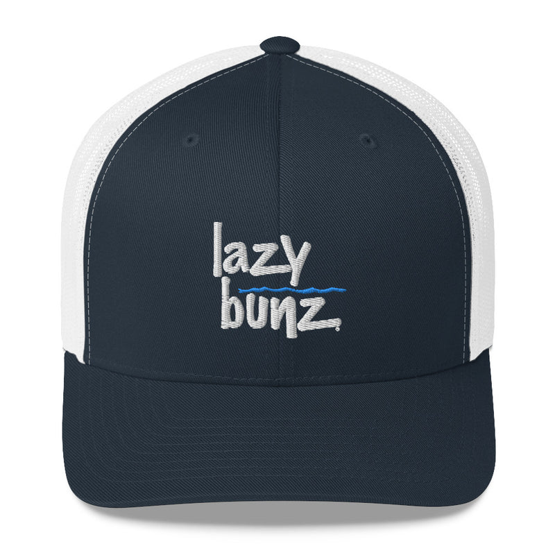 Lazy Bunz Vertical Logo Trucker Cap