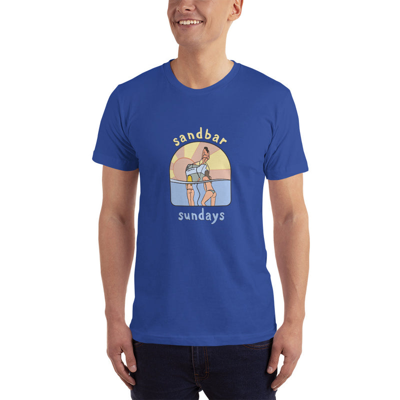 Sandbar Sunday Mermaids Men's T-Shirt