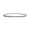Skinny Black And White Eternity Bangle