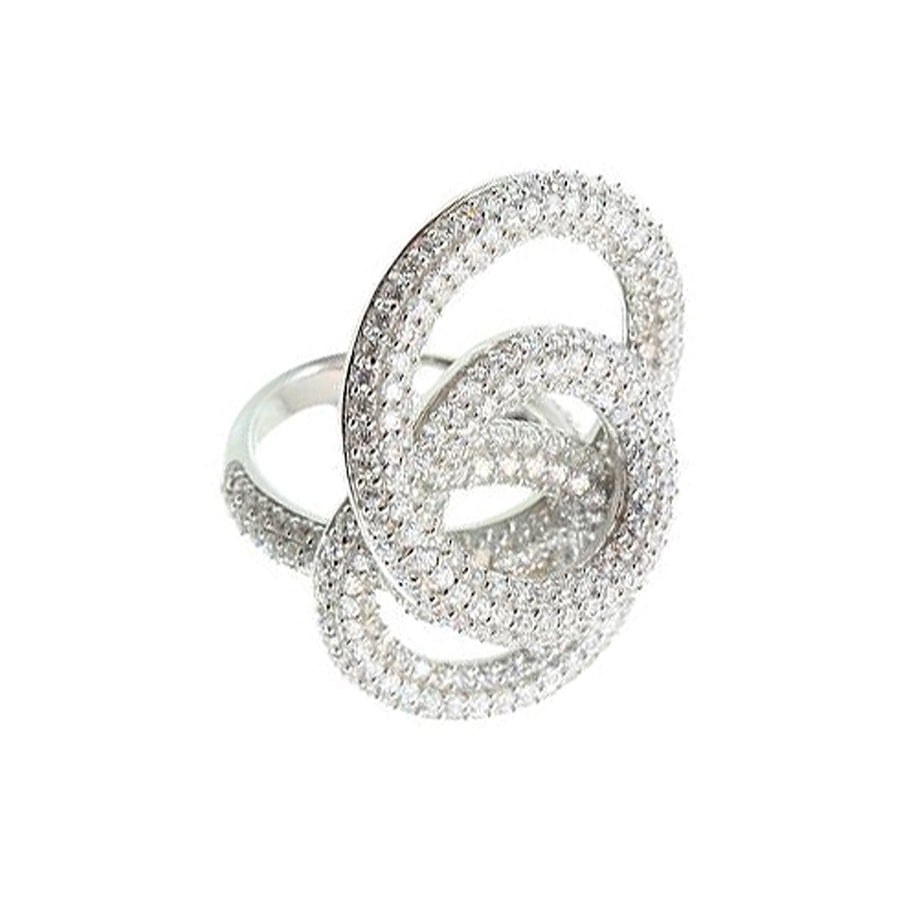Circle Cocktail Ring