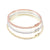 Oval Skinny Bangle