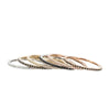 14kt Gold Multi Diamond Eternity Stacking Rings