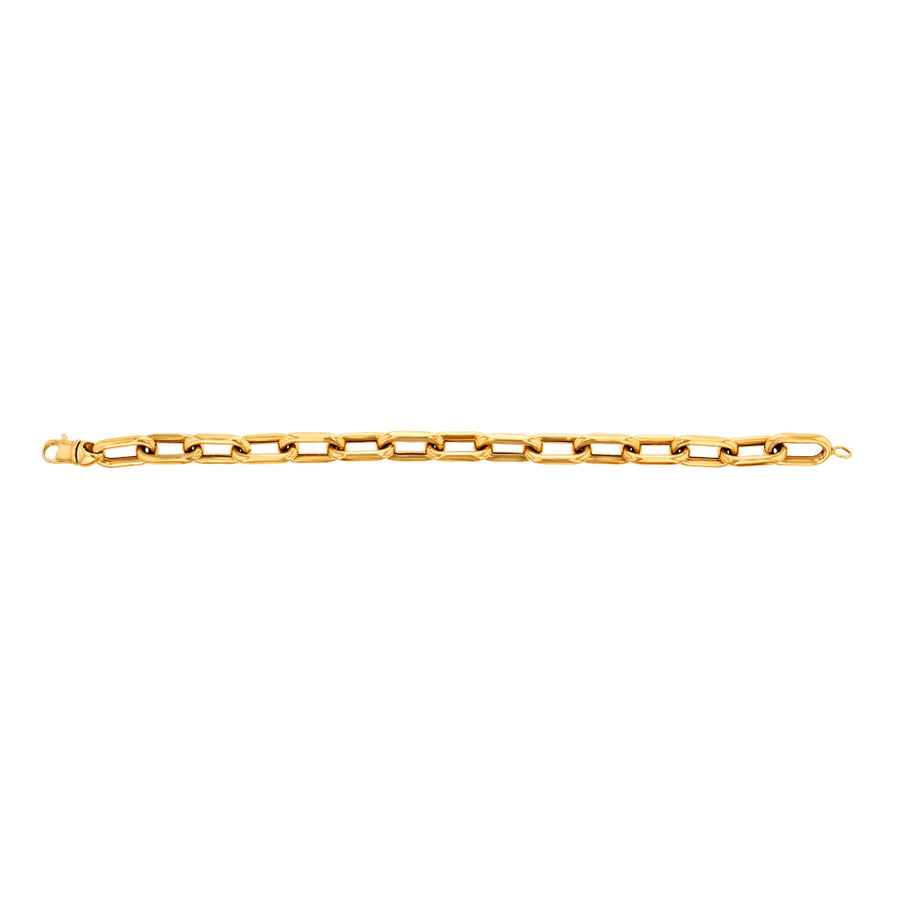 Yellow Gold Chain Link Bracelet
