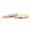 Multi Colored Rainbow Bangle