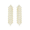 Delicate Tassel Chandelier Earrings