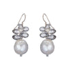 Pearl And Briolette Earrings